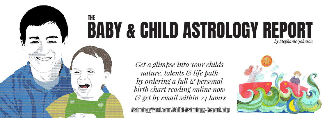 Child Baby Astrology Report Childrens Natal Charthoroscope